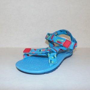 Cat&Jack Light Blue Sandals Size 12 Brand New